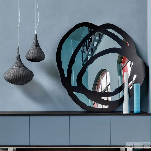Sweet系列--镜子,Gervasoni,家具