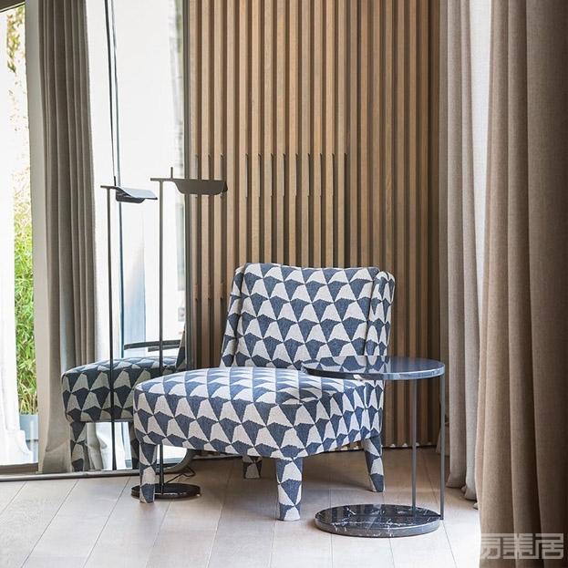 CECILE--小型扶手椅,MERIDIANI,家具、休闲椅
