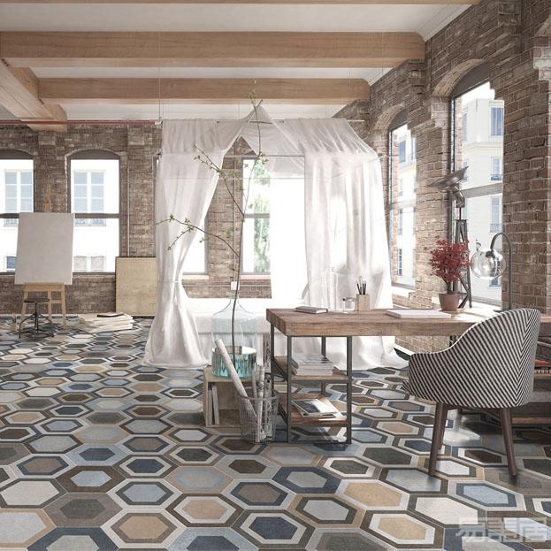 Tripoli系列--六角砖      ,ITT Ceramic,瓷砖、六角砖