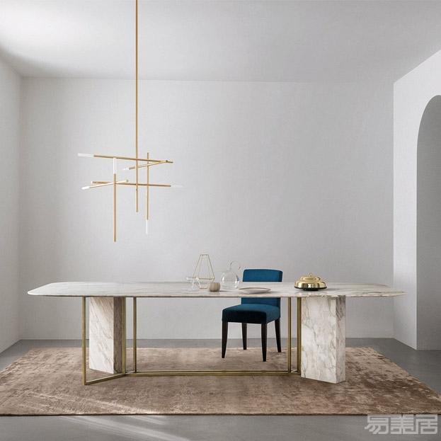 PLINTO Y2W - EDITIONS--餐桌   ,MERIDIANI,家具、餐桌