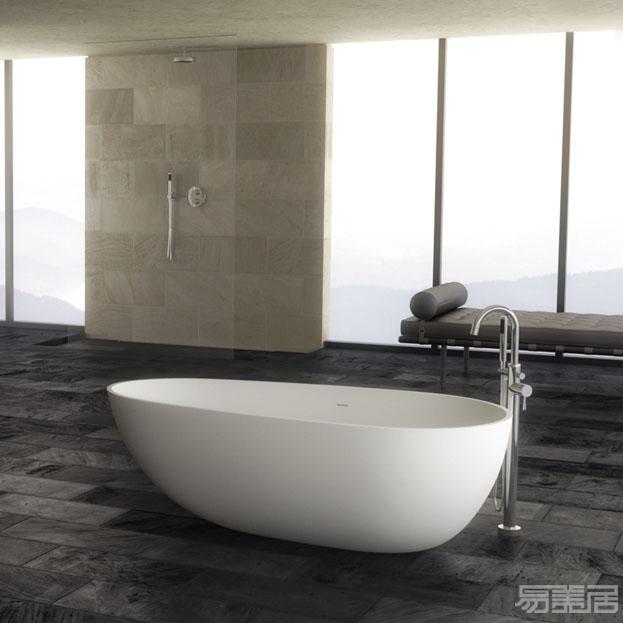 Ovale系列--独立式浴缸  ,Stone kast,卫浴、独立式浴缸