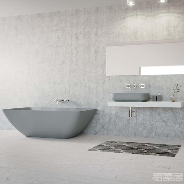 Quadra系列--浴缸,Esedra,卫浴