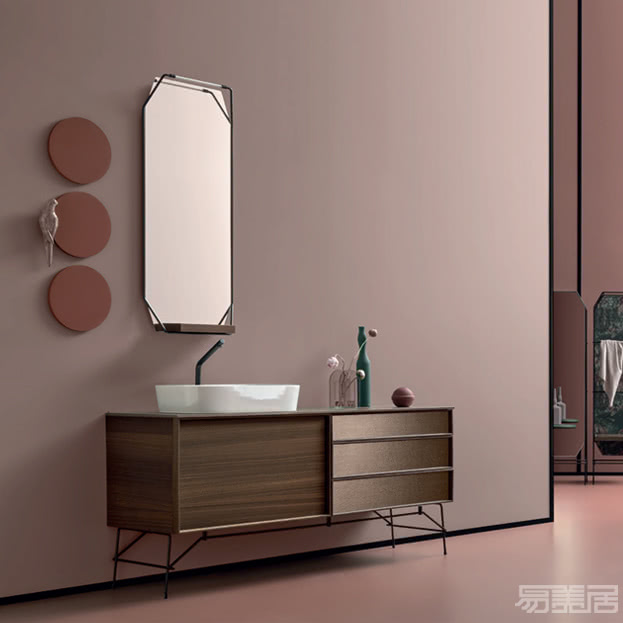 des系列--浴室柜,CERASA,意大利卫浴品牌