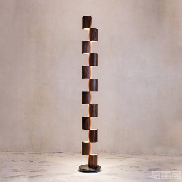Wood Totem--落地灯,ALLIED MAKER,灯饰