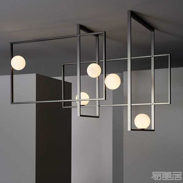 Mondrian系列--吸顶灯 ,Venicem, 灯饰、吸顶灯