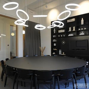 Halo Circular--吊灯
